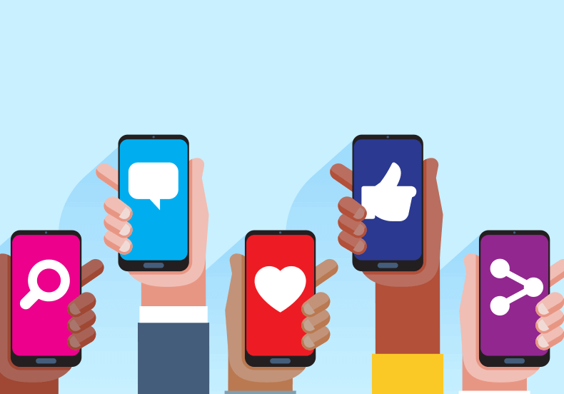 بررسی دلبستگی شبکه های اجتماعی